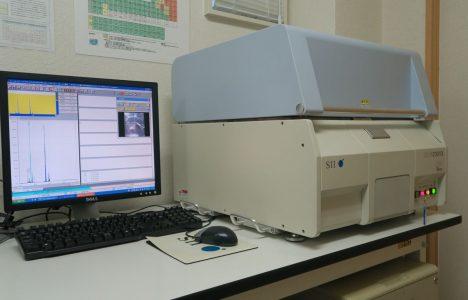 材料分析装置 (蛍光X線分析装置) SEA 1200VX (メーカー:SII)